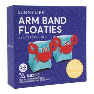 BNWT  SUNNY LIFE  - ARM BAND FLOATIES - CRABBY